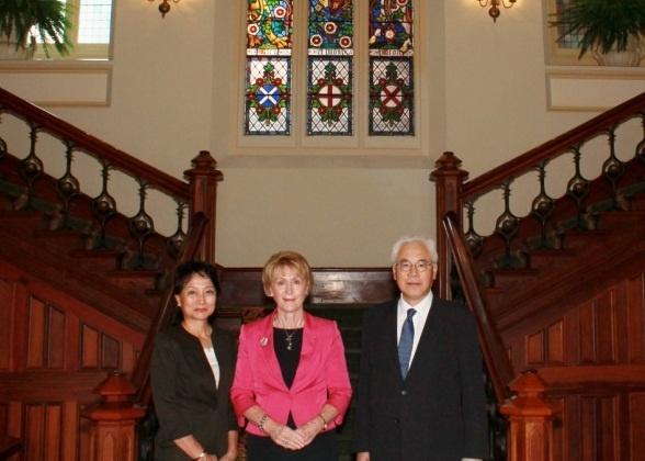 大使の西オーストラリア州公式訪...